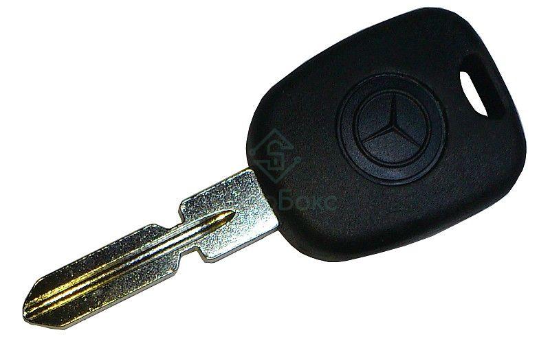 сделать автомобильный ключ от мерседес актрос с чипом